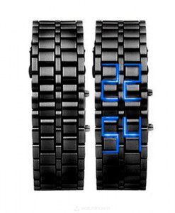 black-samurai--led-horloge-goedkoop-watchitnow-metalen-band-zwart