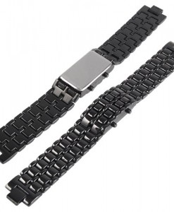 samurai-led-horloge-rode-led-ice-back-achterkant