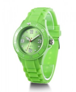 watch-ice-horloge-design-simpel-siliconen-rubber-horloges-licht-groen
