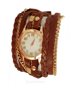 armband-horloge-faux-leer-wrap-on1